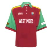 west indies world cup cricket shirt